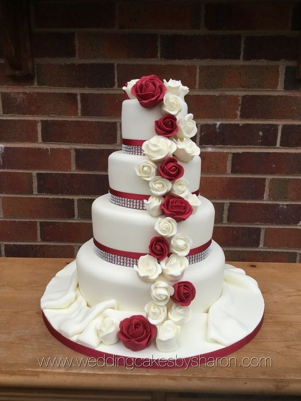 roses on wedding cake wedding cake www pixshark images galleries 19304